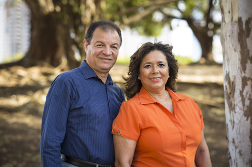 Carlos y Jeanette Zambrano