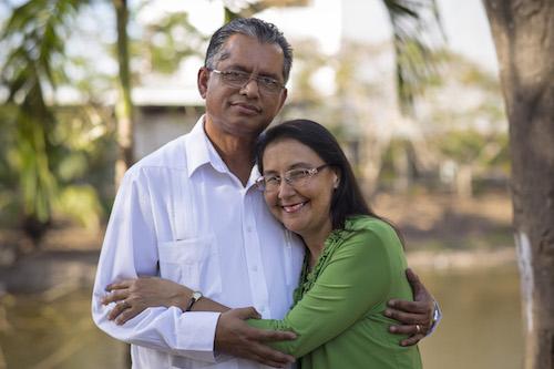 Javier e Iris Cedeño