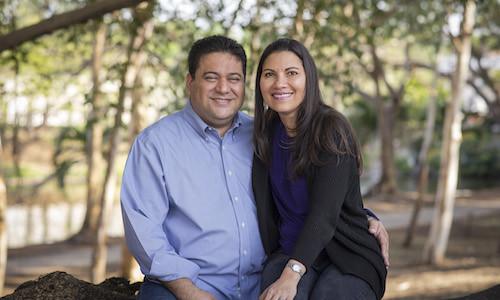 Raúl y Alexandra Hurtado