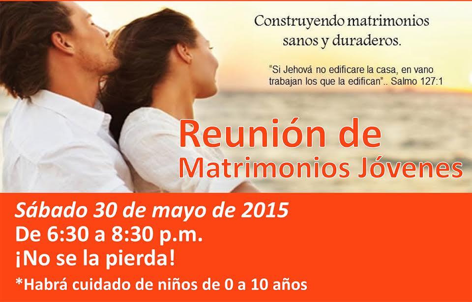 Reunión de Matrimonios Jóvenes