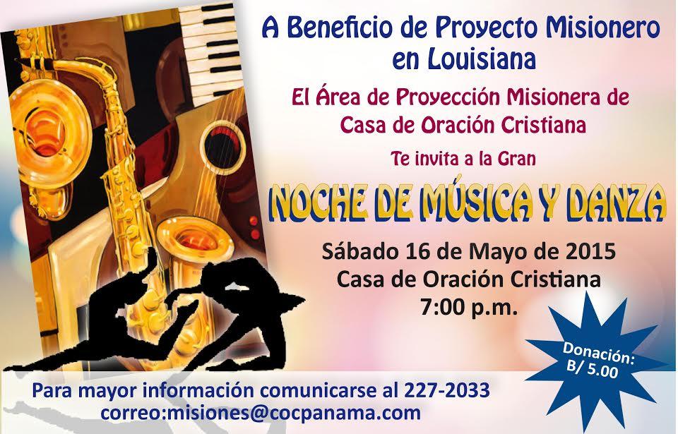 Noche de Música y Danza
