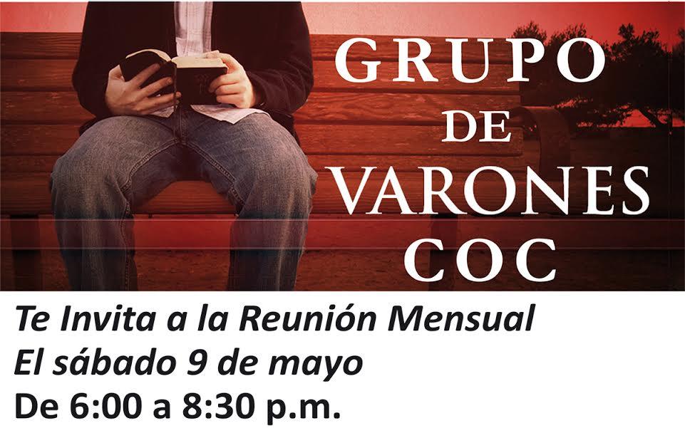 Reunión de Grupo de Varones COC