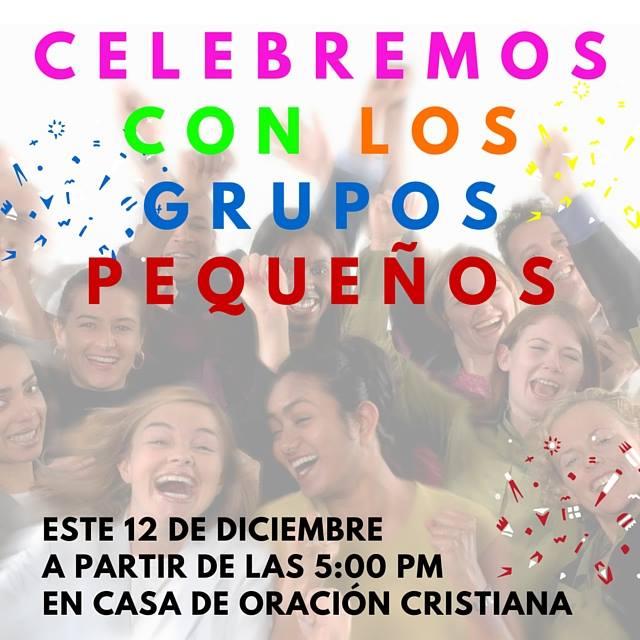 celebración grupos pequeños
