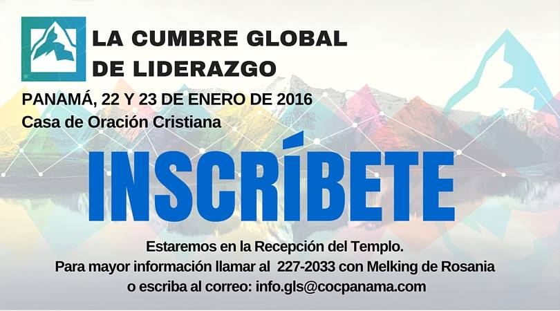 inscribite cumbre global de liderazgo panama