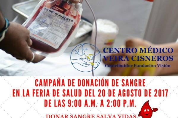 CAMPAÑA DE DONACION DE SANGRE - AGOSTO 2017