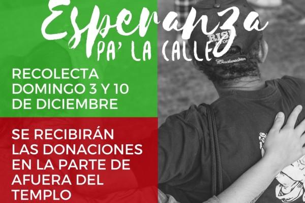 ESPERANZA PA LA CALLE DICIEMBRE 2017