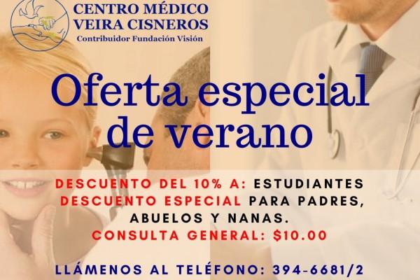 Centro Medico Veira Cisneros - Oferta Verano