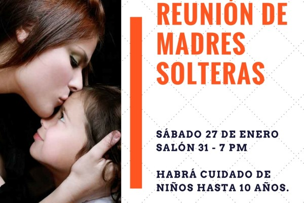 Reunión Madres Solteras - enero 2018