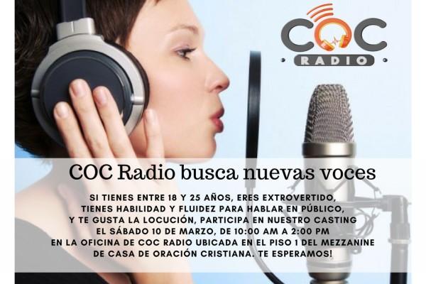 ANUNCIO DE COC RADIO