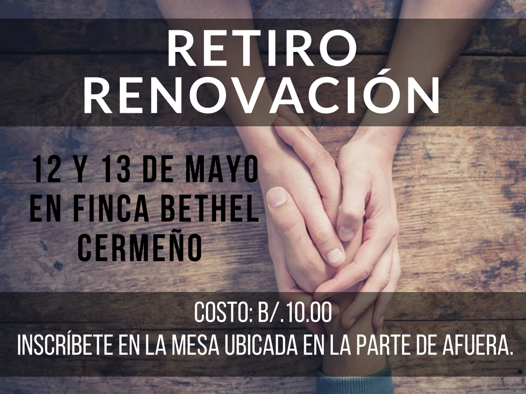 RETIRO RENOVACION 2018