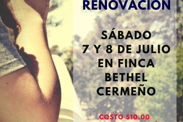 RETIRO RENOVACIÓN - JULIO 2018