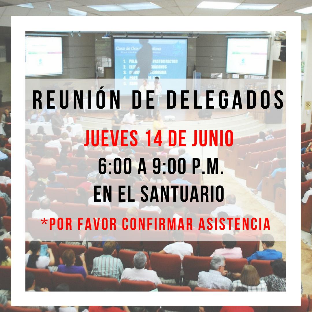 REUNION DE DELEGADOS