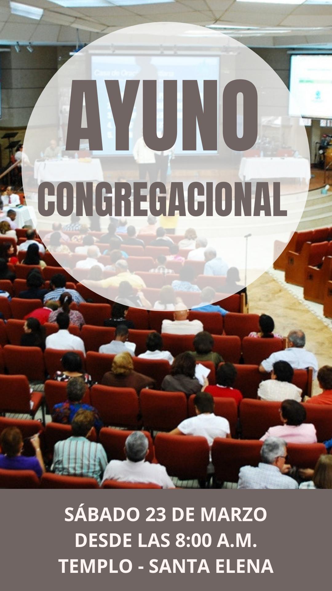 Ayuno Congregacional 2019